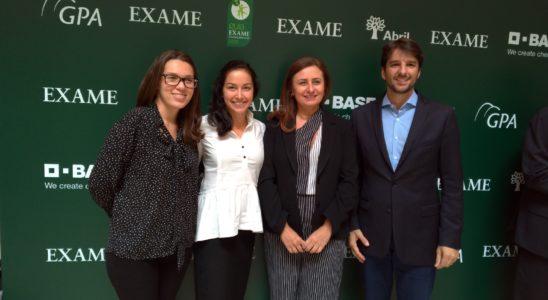 Equipe da Lwart na premiação do Guia EXAME Sustentabilidade 2018