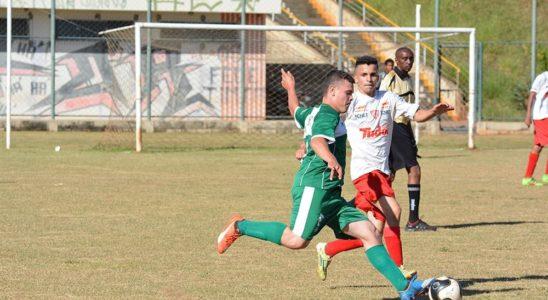 Equipe de sub-17 de Lençóis Paulista durante as disputas dos Jogos da Juventude deste ano - Wagner Gonçalves - Assessoria de Imprensa